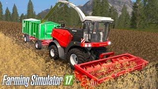 getlinkyoutube.com-Farming Simulator 17 - MAKING CHAFF! Rostselmash RSM 1403 Forage Harvester