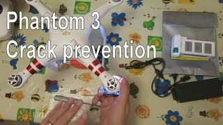 getlinkyoutube.com-Phantom 3 tips Part1 - Crack prevention in body shell arms