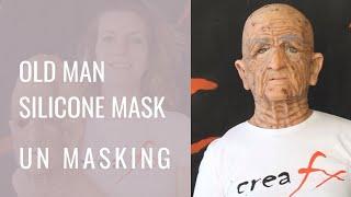 Silicone mask, Maschera Anziano Michele