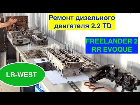 Капитальный ремонт дизельного двигателя 2.2 на Фрилендер 2 и Рендж ровер ЭВОК.