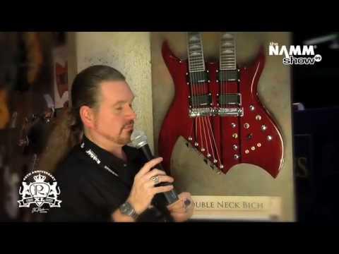 Robert Egnacheski - NAMM 2009 - Double Neck Bich - B.C. Rich Guitars