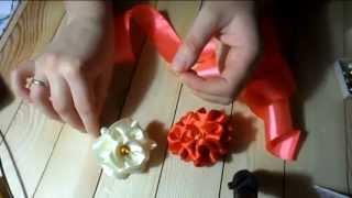 getlinkyoutube.com-Роза на шпильке без единой капли клея ( hand made )