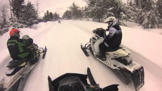 getlinkyoutube.com-Snowmobile 2015 Paradise MI