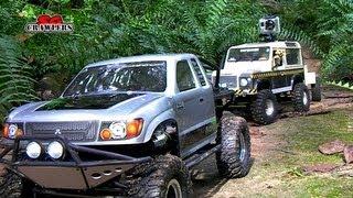getlinkyoutube.com-RC Trucks RC4WD Subzero Tim Cameron Showtime Tundra defender gelande Axial Wraith honcho