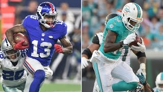 getlinkyoutube.com-Odell Beckham Jr. and Jarvis Landry Practice Crazy One-Handed Catches | Catching Odell | NFL