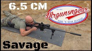 Savage BA Stealth 6.5 Creedmoor & Weaver Tactical 6-30x Scope Review (HD)
