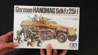 getlinkyoutube.com-#128 - Tamiya German Hanamag Sdkfz 251/1 1/35 Review