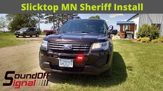 2017 Ford Utility | Marked Police Package Installation | HD Video