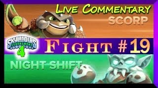 getlinkyoutube.com-Skylanders Swap Force PVP Gameplay 4th Tournament Night Shift Vs Scorp Fight # 19
