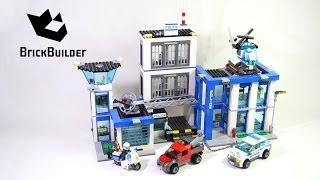 getlinkyoutube.com-Lego City 60047 Police Station - Lego Speed Build