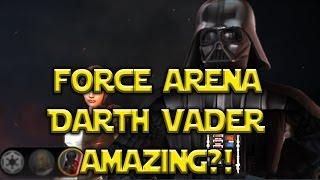 getlinkyoutube.com-Star Wars: Force Arena - Darth Vader Review