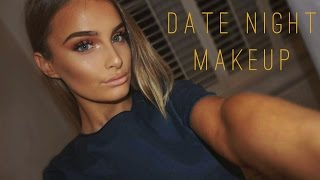 getlinkyoutube.com-Get Ready With Me: Date Night Makeup | Rose Gold Palette || Aoife Conway