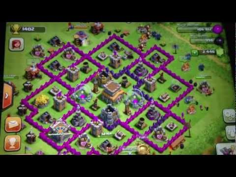 De clash of clans best defense town hall 8 - Mirar Videos Online clash