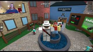 getlinkyoutube.com-[ROBLOX: Murder Mystery 2] - Lets Play Ep 1 Facecam - WE GOT MURDERED!
