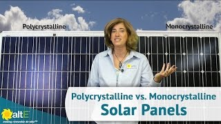 getlinkyoutube.com-Monocrystalline vs. Polycrystalline Solar Panels - What's the Difference?