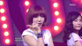 getlinkyoutube.com-A-pink - Hush, 에이핑크 - 허쉬, Music Core 20120512