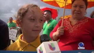 Informe sobre la marcha en Immokalee para el día del trabajador