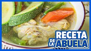 getlinkyoutube.com-Como hacer caldo de pollo super delicioso y fácil ✔✔ Las Recetas de Rosy ✔✔