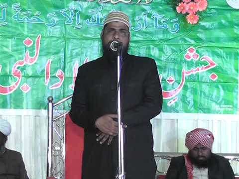 MELAD UN NABI JALSA part 6 & Welcom to Kazim Pasha qadri sahab in masab tank (G M Group )