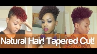 97. My New Tapered Natural Hair Cut
