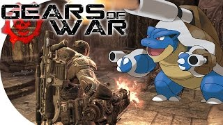 "Co-op Let's Play | Gears of War Ultimate - ""Running from the Brumak!"" (w/ H2O Delirious) (EP10)"