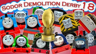 getlinkyoutube.com-Sodor Demolition Derby 18 | Thomas and Friends Trackmaster | Strongest Engine