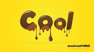 getlinkyoutube.com-Melted Chocolate Text with Illustrator