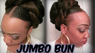 "getlinkyoutube.com-""Candyboo Cinna Jumbo  Bun  ...(hair tutorial)"