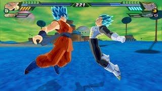 getlinkyoutube.com-Vegeto Blue Super Saiyan God VS Golden Metal Cooler (Dragon Ball Z Budokai Tenkaichi 3 mod)