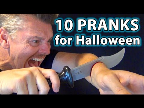 10 TOP Halloween Pranks on Family!