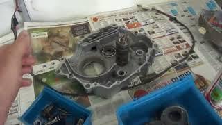 """Motor Titan-125 """"99"""" montagem passo a passo Cássio mecânico"""