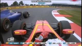 getlinkyoutube.com-Full Highlight Rio Haryanto saat Juara GP2 Series Sprint Race Silverstone 2015