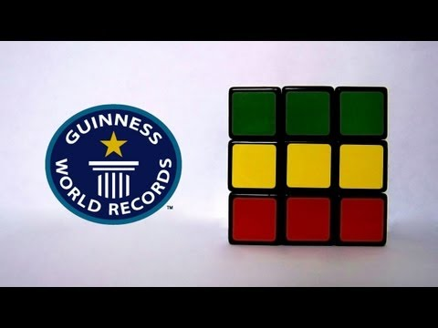 Rubik's Cube Official (Former) World Record 3x3x3 - 6.77 - Feliks Zemdegs