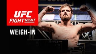 UFC Fight Night Glasgow: Official Weigh-in