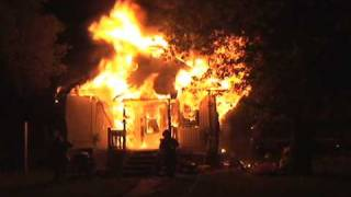 Double Whammy For GFD, 2 Fully Involved Houses