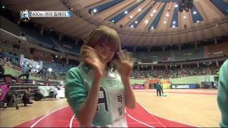 getlinkyoutube.com-[HOT] 아이돌 스타 육상양궁풋살컬링 선수권대회 2부 K-Pop Star Championships - 400m 여자 계주, 에이핑크의 금메달 획득! 20140131