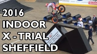getlinkyoutube.com-FIM X-Trial Championship Sheffield 2016 - BEST BITS