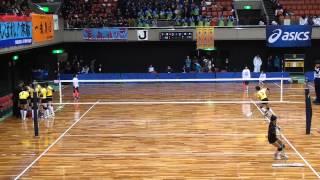 getlinkyoutube.com-2014JOC中学バレー女子決勝トーナメント千葉vs岩手1セット目