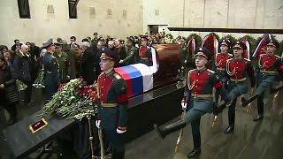 جنازه سفیر روسیه در سازمان ملل تشییع شد