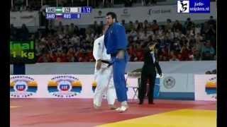 getlinkyoutube.com-Judo 2012 Grand Slam Moscow: Tangriev (UZB) - Saidov (RUS) [+100kg] semi-final