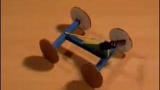 getlinkyoutube.com-Como hacer un auto propulsado con goma