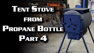 Download video army ammo can stove tent heater build Propane stove left on overnight