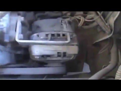 Замена ремня генератора