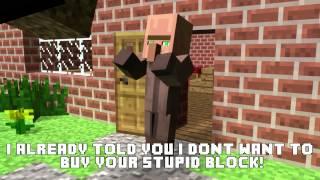 Minecraft Animation - Wanna Buy A Block?