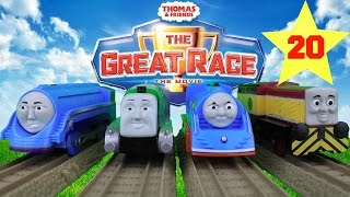 getlinkyoutube.com-THOMAS AND FRIENDS THE GREAT RACE #20 | TRACKMASTER ROYAL SPENCER  Kids Playing Toy Trains
