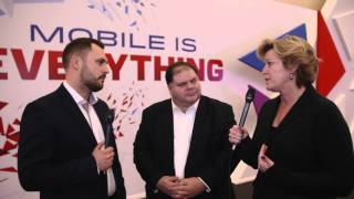 Mobile World Congress 2016: Lou Paskalis, Bank of America, and Lisa Donohue, Starcom USA