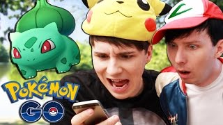 getlinkyoutube.com-Dan and Phil play Pokemon GO!