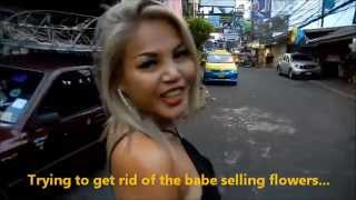 getlinkyoutube.com-Sexy Blonde Babe in Pattaya City Thailand