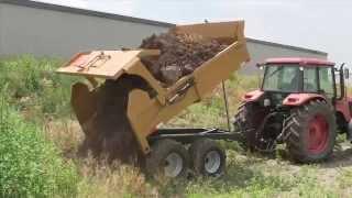 8 ton farm dump trailer from Berkelmans Welding and Custom Manufacturing Inc.