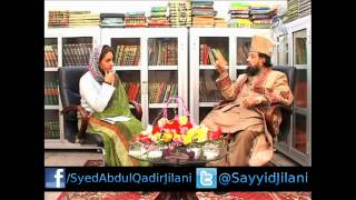 getlinkyoutube.com-Mufakkir-e-Islam Dr. Pir Syed Abdul Qadir Jilani Exclusive Interview with Aaj News TV Pakistan 2014